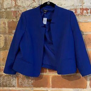 NWT brilliant blue blazer